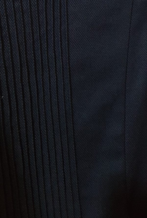 школьная ткань хлопок черный