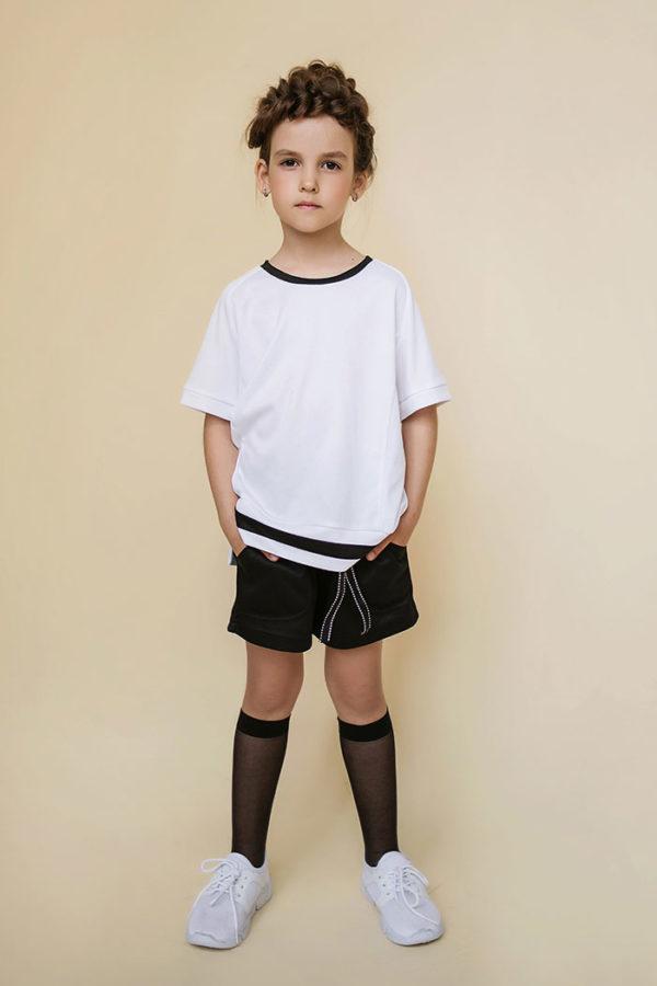 футболка и шорты на вырост