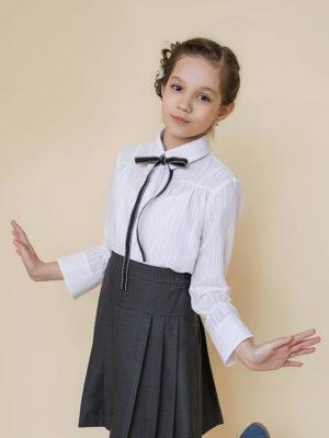 блуза для школьнирцы