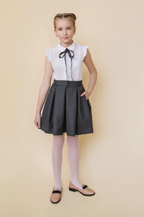 пышная юбка в школу