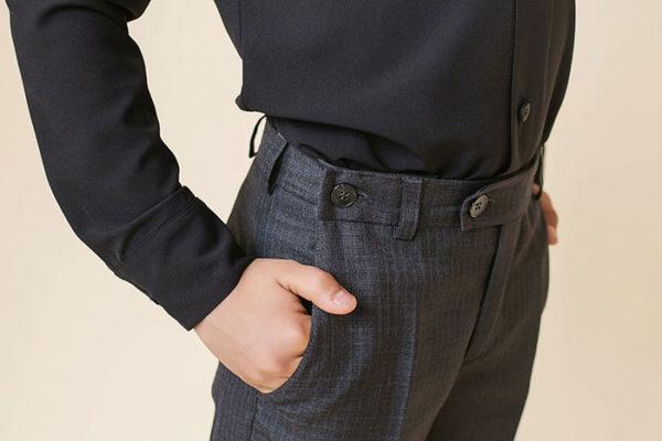 брюки с запасами на вырост