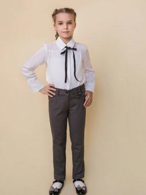 штаны для девочки с бантиком