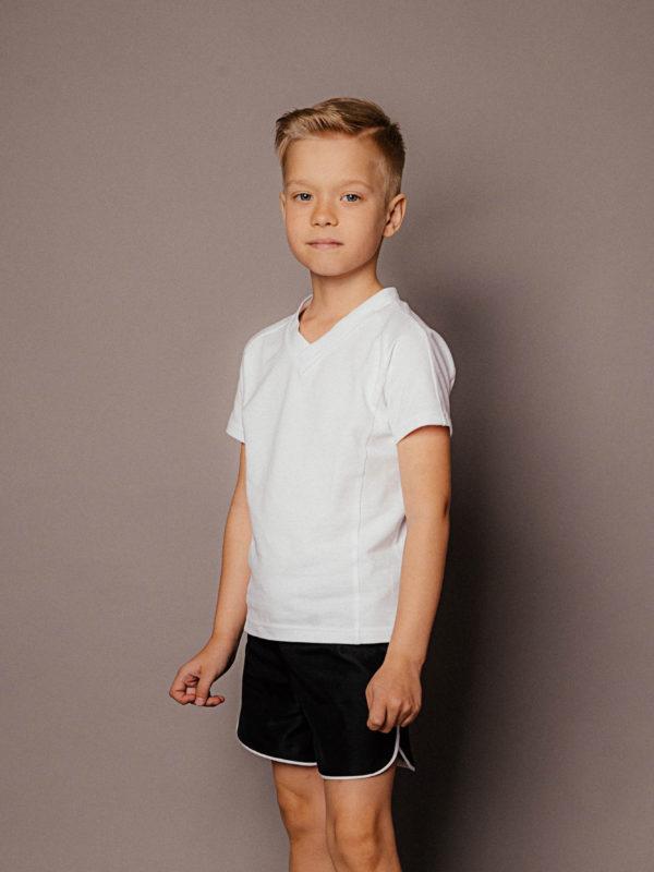черные шорты для мальчика