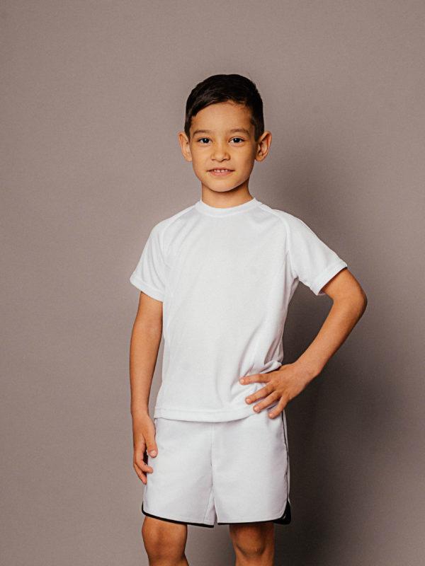 детская футболка для спорта