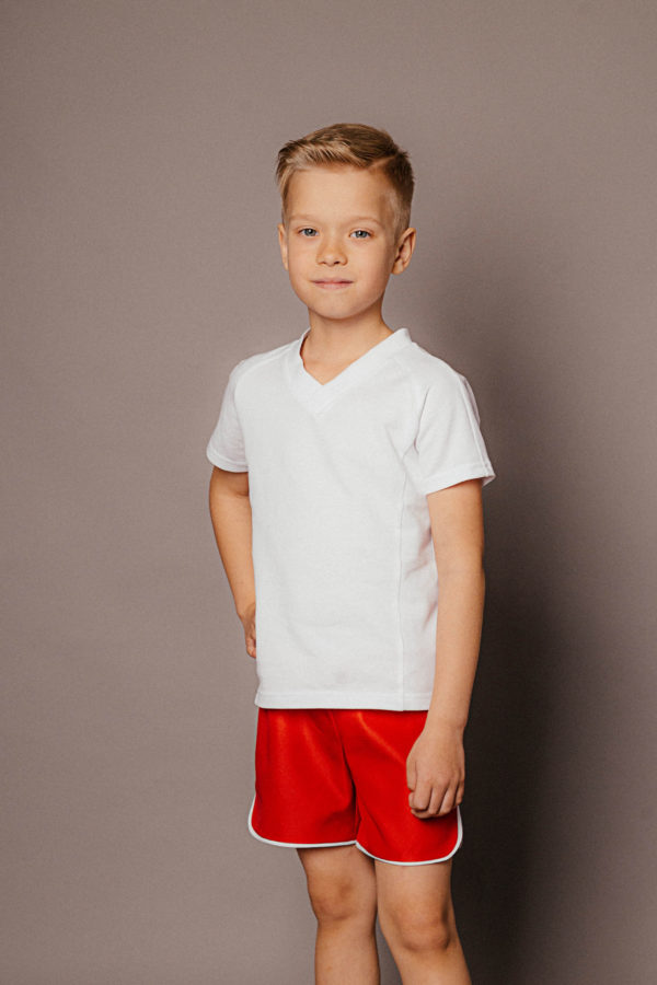 шорты красные мальчику