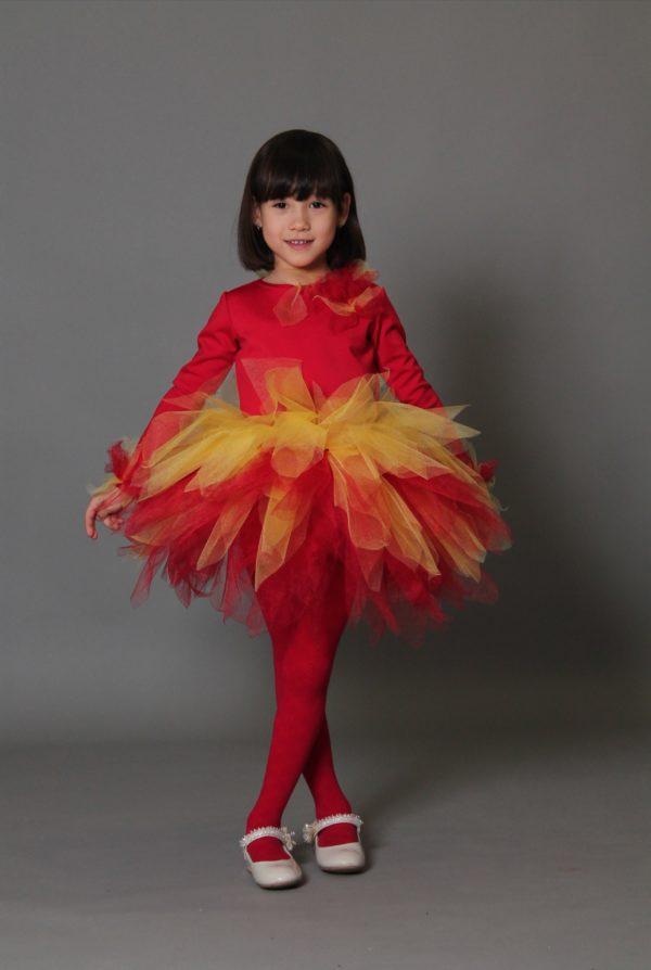 платье огонек