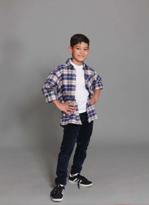 Зимняя рубашка для мальчика