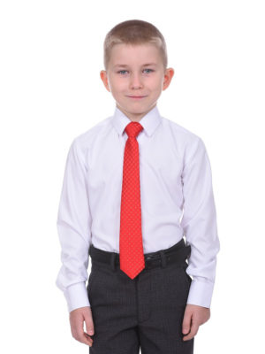Белая рубашка в школу