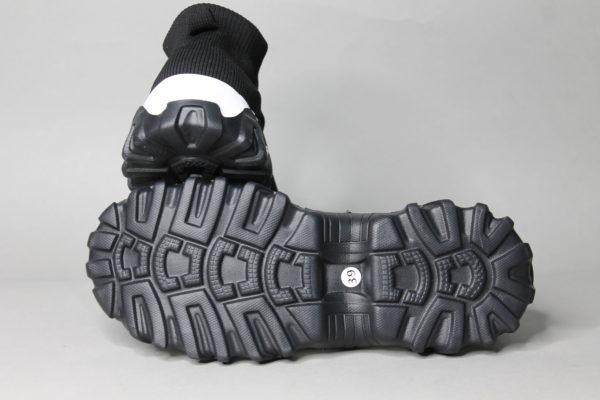 кроссовки черные текстиль